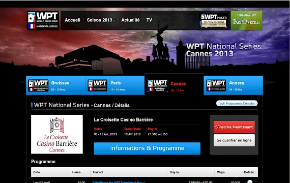 WPT National Series France
